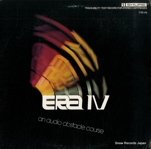 V/A - era iv an audio obstacle course - 33T