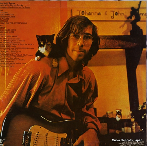 HALL, JOHN action 20AP1975 - back cover