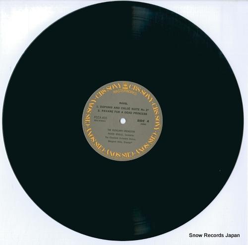 BOULEZ, PIERRE boulez conducts ravel FCCA455 - disc