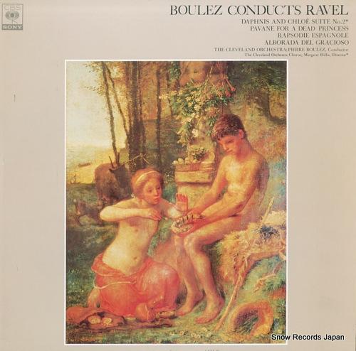 BOULEZ, PIERRE boulez conducts ravel FCCA455 - front cover