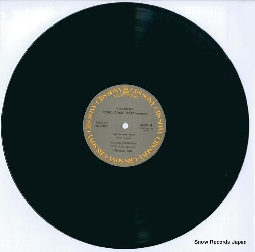 MEHTA, ZUBIN stravinsky; petrouchka FCCA458 - disc