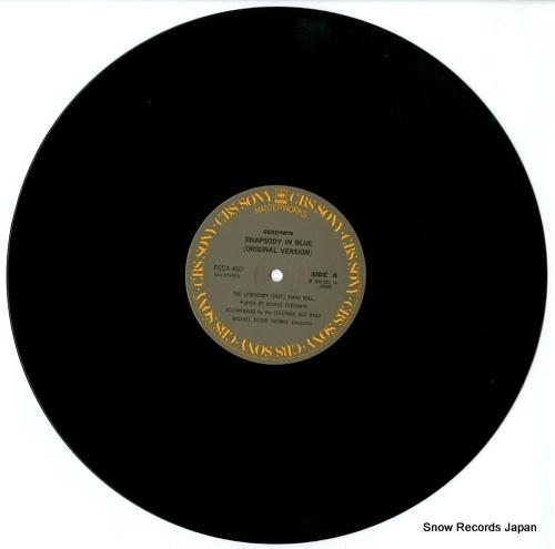 THOMAS, MICHAEL TILSON gershwin; rhapsody in blue (original version) FCCA460 - disc