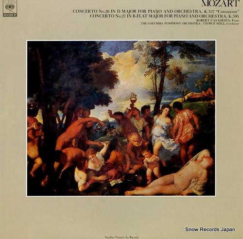 ロベール・カザドシュ モーツァルト:ピアノ協奏曲第26番ニ長調k.537「戴冠式」 FCCA464