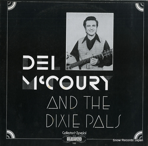 MCCOURY, DEL, AND THE DIXIE PALS collector's special G-102 - front cover