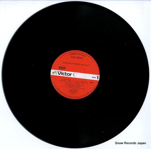LEWIS, ANN romantic violence SJX-30232 - disc