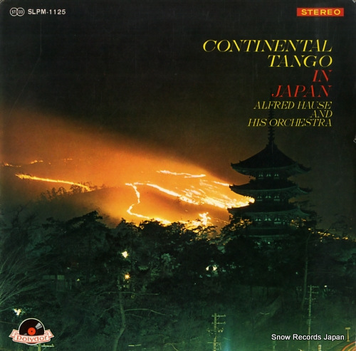 HAUSE, ALFRED continental tango in japan SLPM1125 - front cover