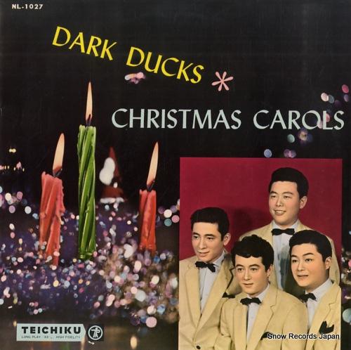DARK DUCKS christmas carols NL-1027 - front cover