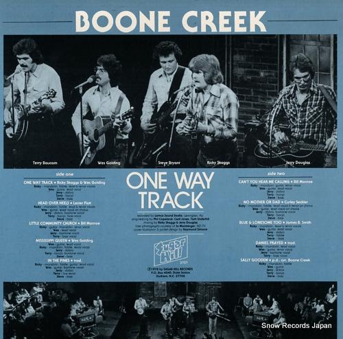BONNE CREEK one way track SH-3701 - back cover