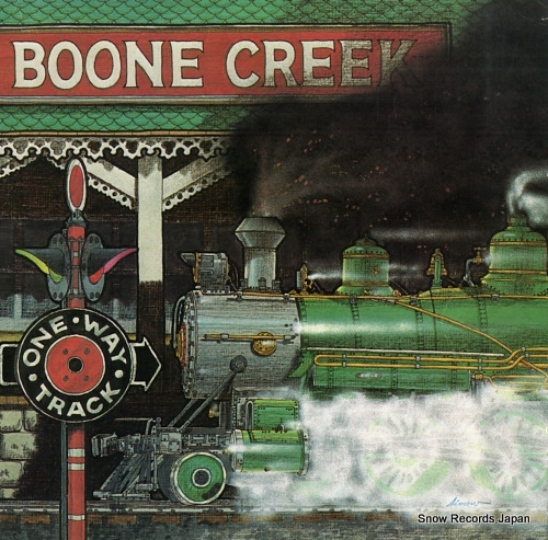 BONNE CREEK one way track SH-3701 - front cover