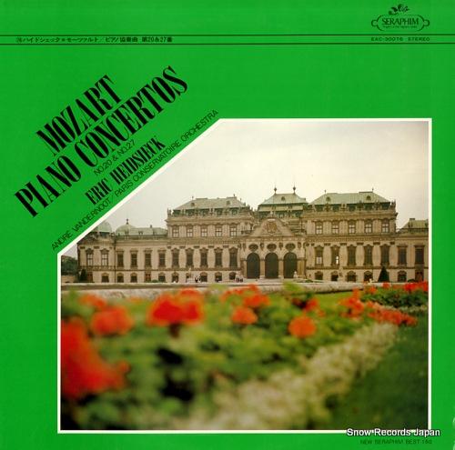 HEIDSIECK, ERIC mozart; piano concertos no. 20 & no. 27 EAC-30076 - front cover