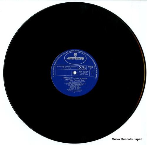 FLATT, LESTER, AND EARL SCRUGGS the foggy mountain boys FDX-9061-2(M) - disc