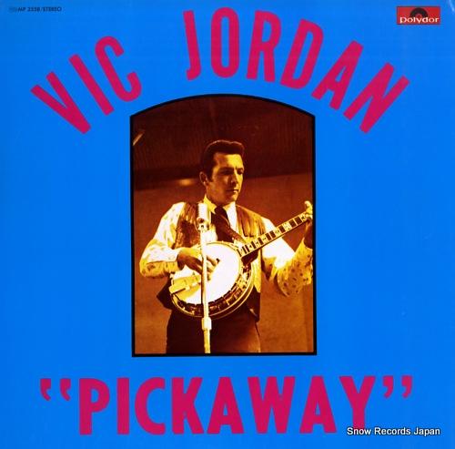 JORDAN, VIC pickaway MP2558 - front cover