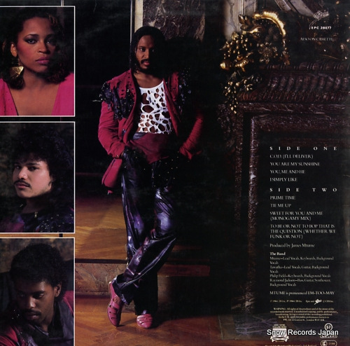 MTUME you, me and he EPC26077 - back cover