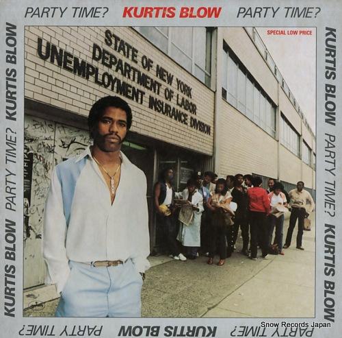 カーティス・ブロウ party time? 812757-1M-1