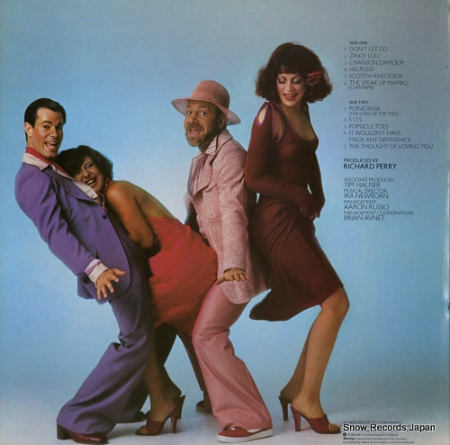 MANHATTAN TRANSFER, THE coming out SD18183 - back cover