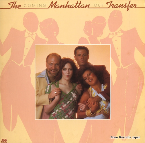 MANHATTAN TRANSFER, THE coming out SD18183 - front cover