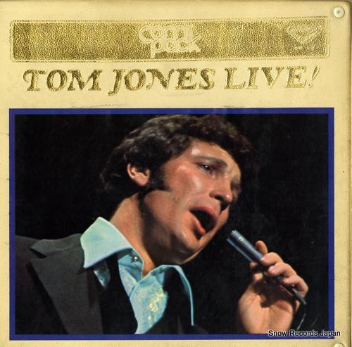 JONES, TOM tom jones live! CM1-2 - front cover