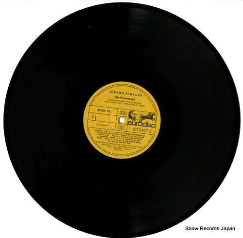 STOLZ, ROBERT strauss; die fledermaus 88610XDE - disc