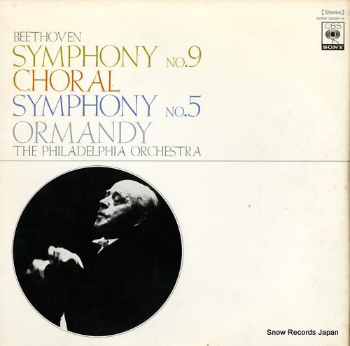 ORMANDY, EUGENE beethoven; symphony no.9,