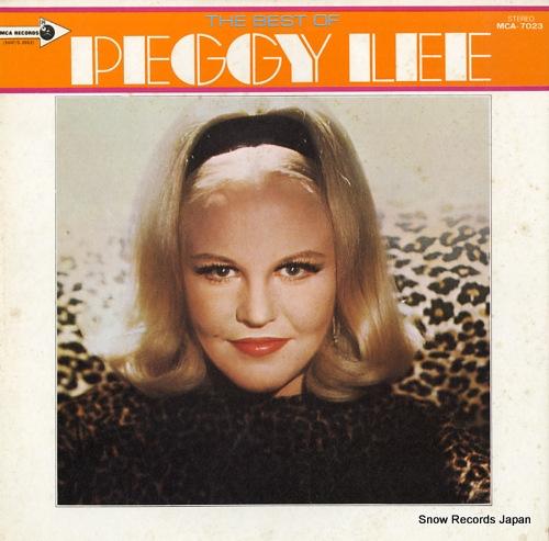 ペギー・リー ジャニー・ギター/ペギー・リー・デラックス MCA-7023