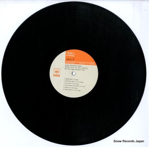 FLATT, LESTER, AND EARL SCRUGGS foggy mountain banjo 20AP-18 - disc