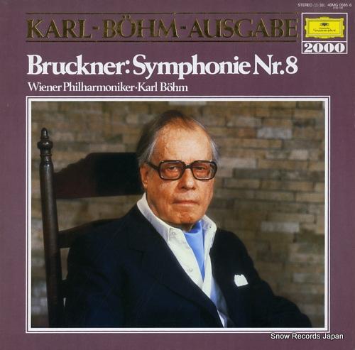 BOHM, KARL bruckner; symphonie nr.8 40MG0585/6 - front cover