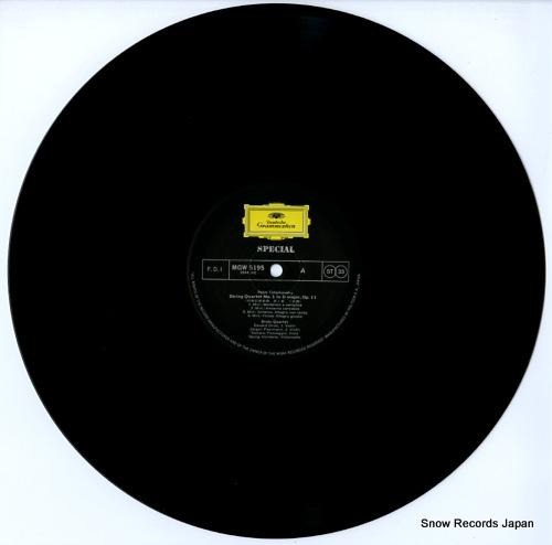 DROLC QUARTETT, DAS tchaikovsky; string quartet no.1 MGW5195 - disc