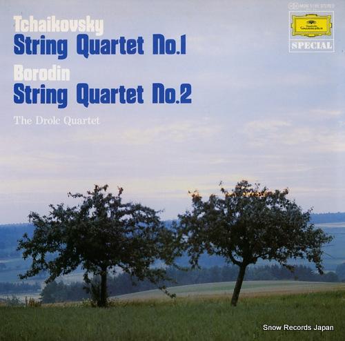 DROLC QUARTETT, DAS tchaikovsky; string quartet no.1 MGW5195 - front cover