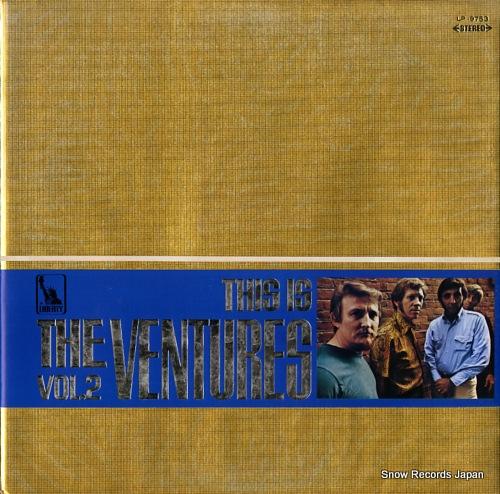 ザ・ベンチャーズ これぞベンチャーズ第2集 LP-9753