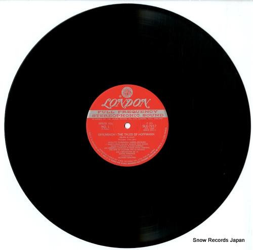 BONYNGE, RICHARD offenbach; the tales of hoffmann SLC7217/9 - disc