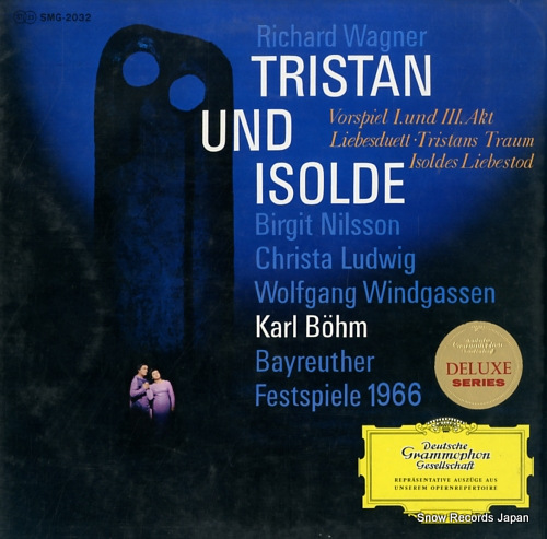 BOHM, KARL wagner; tristan und isolde SMG-2032 - front cover