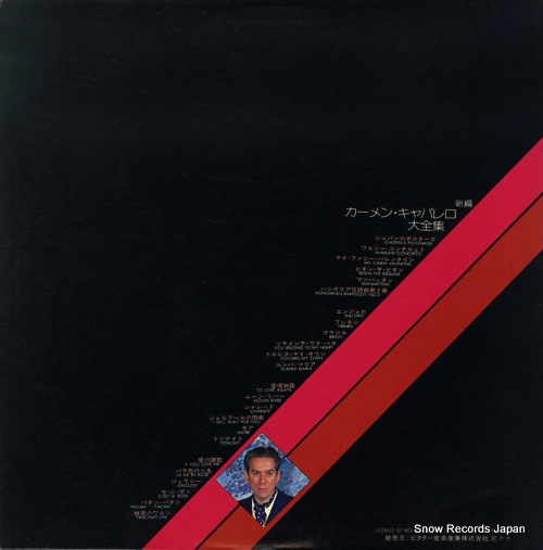 CAVALLARO, CARMEN the best of MCA-9230-1 - back cover