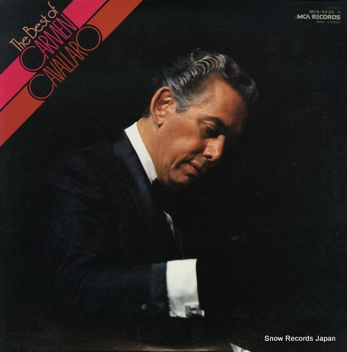 CAVALLARO, CARMEN the best of MCA-9230-1 - front cover