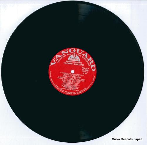 ADELBRECHT, HENRI telemann; concertos GT1081 - disc