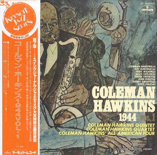 HAWKINS, COLEMAN coleman hawkins 1944 vol,1 BT-5254M - front cover