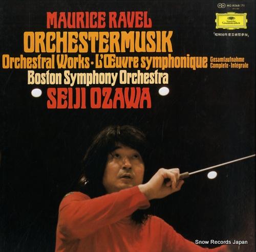 OZAWA, SEIJI ravell; orchestremusik MG8068/71 - front cover