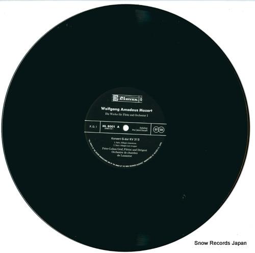 GRAF, PETER-LUKAS mozart; die werke fur flote und orchestra ML8001/2 - disc