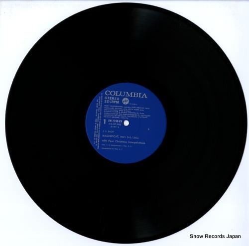 RILLING, HELMUTH bach; magnificat bwv242/243a OW-7730-VX - disc