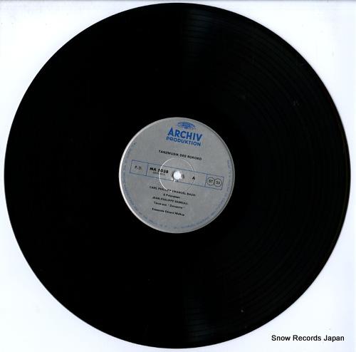 ENSEMBLE EDUARD MELKUS rococo dance music MA5038 - disc