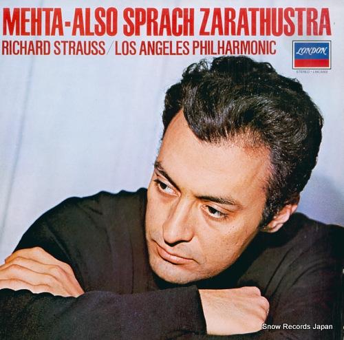 MEHTA, ZUBIN r.strauss; also sprach zarathustra L18C5002 - front cover