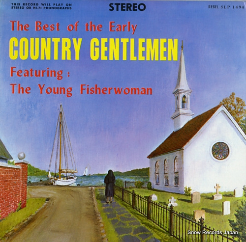 COUNTRY GENTLEMEN, THE the best of the early country gentleman SLP1494 - front cover