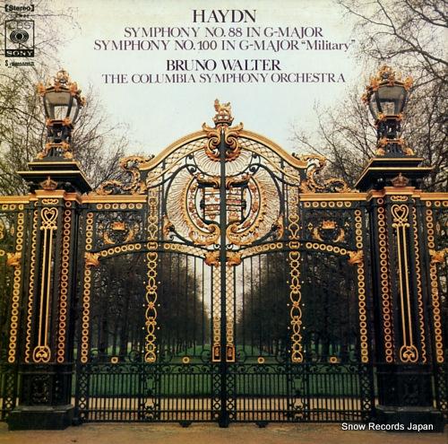 WALTER, BRUNO haydn; symphony no.88 & 100