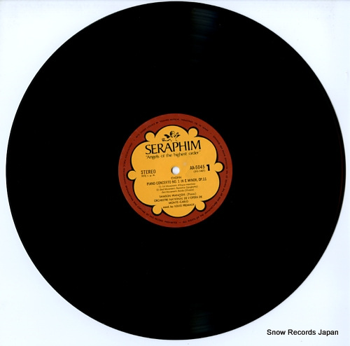FRANCOIS, SAMSON chopin / liszt; piano concerto no.1 AA.5045 - disc