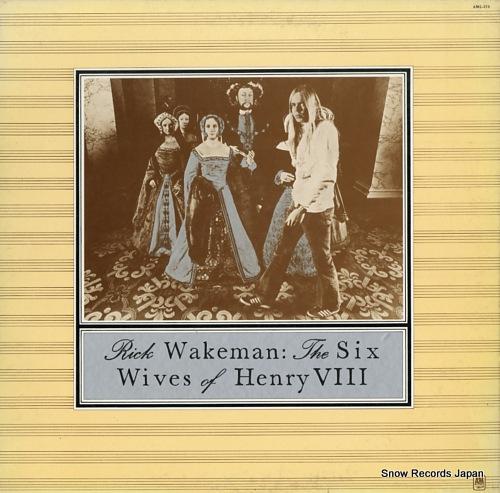 リック・ウェイクマン ヘンリー八世の六人の妻 AML-173