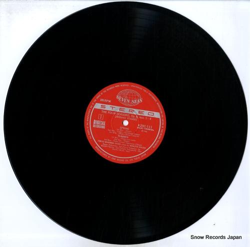 TOKYO MARIMBA BAND vivaldi; the four seasons K28C-111 - disc