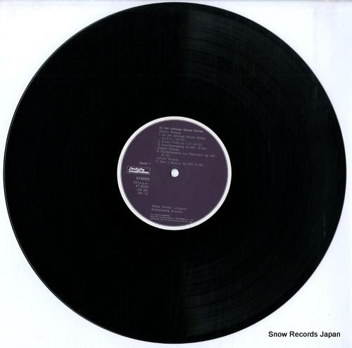 SUITNER, OTMAR strauss; an der schonen blauen donau ET-5096 - disc