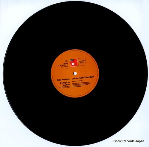 AMELING, ELLY bach; hochzeits kantate ULX-3051-H - disc