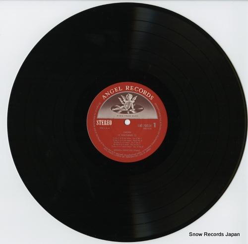 FRANCOIS, SAMSON chopin; nocturne no.1~10 EAC-70034 - disc