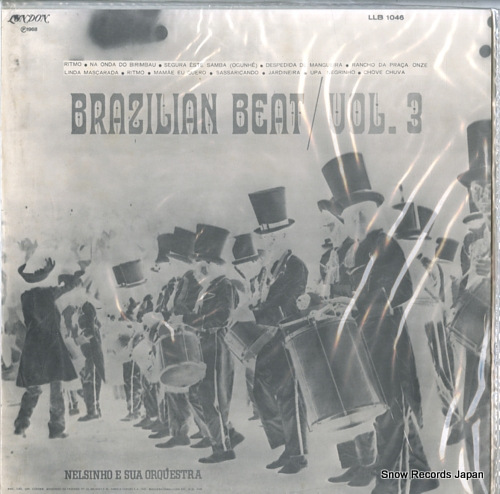 NELSINHO E SUA ORQUESTRA brazilian beat vol. 3 LLB1046 - back cover