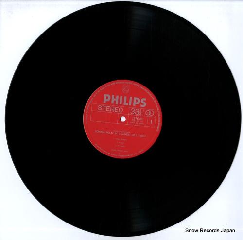 HASKIL, CLARA beethoven; piano sonata no.17 in d minor 13PC-83 - disc
